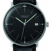 Junghans Steel Automatic Black 38mm new max bill Automatic