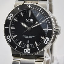 Oris Aquis Date Steel 43mm Black No numerals United States of America, Ohio, Mason