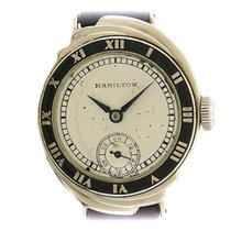 Hamilton White gold 29mm Manual winding pre-owned United States of America, New York, New York