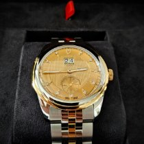 Tudor Glamour Double Date Gold/Steel 42mm Champagne No numerals