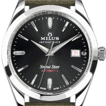 Milus Steel Automatic MIH.02.002 new