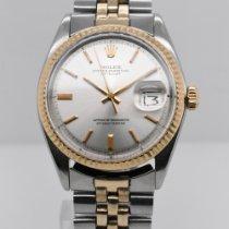 Rolex Datejust 16013 Хорошее Золото/Cталь 36mm Автоподзавод