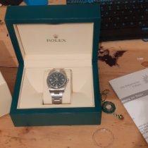 Rolex Oyster Perpetual 36 36mm Blue Arabic numerals