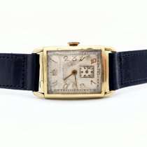 Longines Yellow gold 22.3mm Manual winding Cal. 9L pre-owned United States of America, Illinois, Roscoe