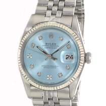 Rolex Datejust Gold/Steel 36mm Silver No numerals United States of America, California, Sherman Oaks