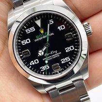 Rolex Air King Steel 40mm Black Arabic numerals UAE, Abu Dhabi