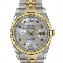 Rolex Datejust 16233 Very good Gold/Steel 36mm Automatic