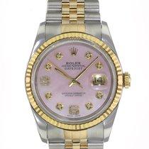 Rolex Datejust Gold/Steel 36mm Pink United States of America, California, Sherman Oaks