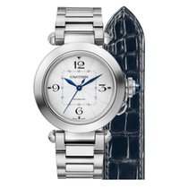 Cartier WSPA0013 Steel 2020 Pasha 35mm new United States of America, Iowa, Des Moines