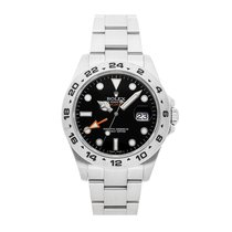 Rolex Explorer II Steel 42mm Black No numerals United States of America, Pennsylvania, Bala Cynwyd