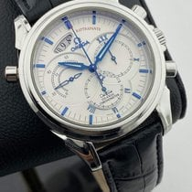 Omega De Ville Co-Axial Steel 41mm White No numerals