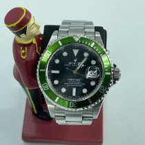 Rolex Submariner Date Steel 40mm Black No numerals Malaysia