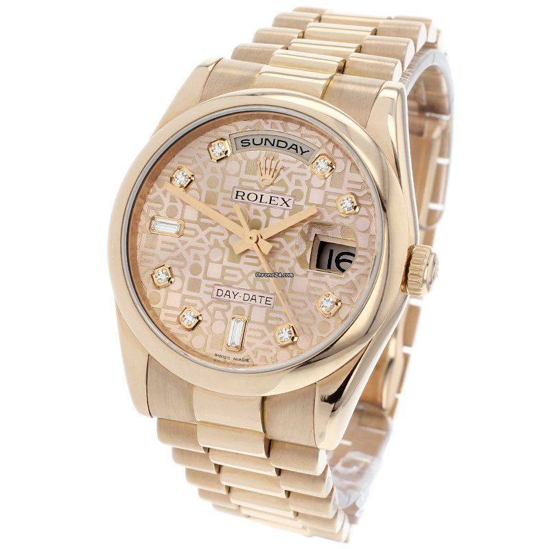 Rolex Day-Date 36 118205 2011 pre-owned