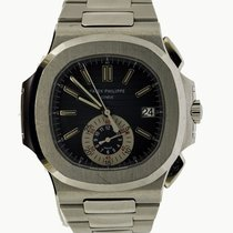 Patek Philippe Steel 40mm Chronograph 5980/1A-001 pre-owned