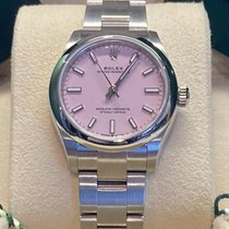 Rolex Oyster Perpetual 31 Steel 31mm Pink No numerals United Kingdom, Hayling Island