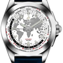 Breitling Galactic Unitime Steel 44mm White