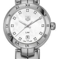 TAG Heuer Link Lady new Quartz Watch with original box WAT1417-BA0954