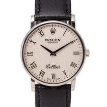 Rolex Cellini White gold 36mm White Roman numerals United Kingdom, Radlett