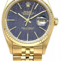 Rolex 16018 Yellow gold 1978 Datejust 36mm pre-owned United States of America, Florida, Boca Raton