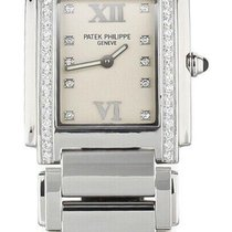 Patek Philippe Women's watch Twenty~4 30mm Quartz pre-owned Watch with original box and original papers