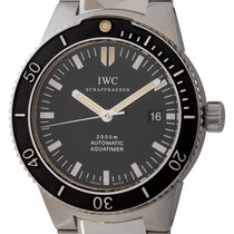 IWC Aquatimer Automatic 2000 Steel 42mm Black United States of America, Texas, Austin