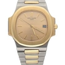 Patek Philippe 3800/1 Gold/Steel Nautilus 37.5mm pre-owned United States of America, New York, New York