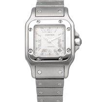 Cartier Santos Galbée Steel 24mm Silver United States of America, New York, New York