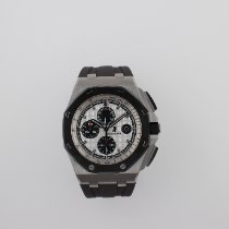 愛彼 Royal Oak Offshore Chronograph 鋼 44mm 銀色 無數字 香港