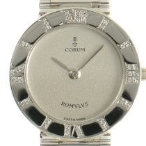 Corum Romvlvs 30.131.79 V-58 Very good Platinum 24mm Quartz