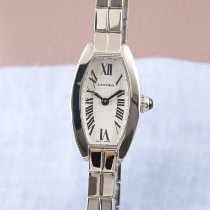 Cartier Tonneau White gold 21mm Silver