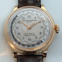 Baume & Mercier Capeland Rose gold 44mm Grey Arabic numerals