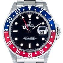 Rolex GMT-Master Ατσάλι 40mm Μαύρο Xωρίς ψηφία Ελλάδα, GLYFADA