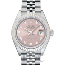 Rolex Lady-Datejust Steel 28mm Pink