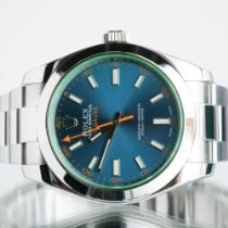 Rolex Milgauss Steel 40mm Blue No numerals United Kingdom, Newcastle Upon Tyne