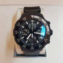 IWC Aquatimer Chronograph Ceramic 44mm Black No numerals