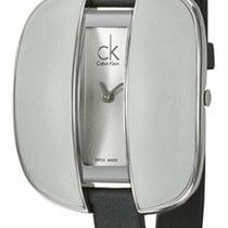 ck Calvin Klein Steel Quartz Silver 35mm new
