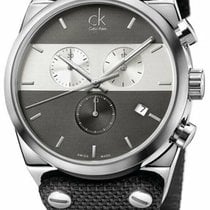 ck Calvin Klein Steel 45mm Quartz K4B371B3 new United States of America, New York, Monsey