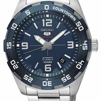 Seiko 5 Sports Steel 44mm Blue Arabic numerals United States of America, New York, Monsey