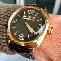 Panerai Pозовое золото Автоподзавод Черный 47mm подержанные Special Editions