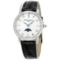 Frederique Constant Slimline Moonphase Steel 30mm Mother of pearl United States of America, New Jersey, Somerset