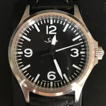 Sinn 556 pre-owned 38.5mm Black Date Leather