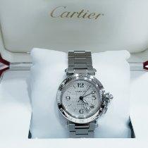 Cartier Pasha C 2377 Très bon Acier 35mm Remontage automatique