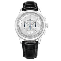 Jaeger-LeCoultre Master Chronograph Steel 40mm Silver United States of America, Connecticut, Greenwich