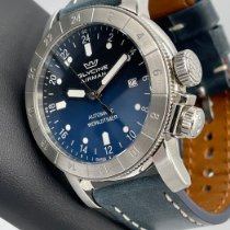Glycine Steel 44mm Automatic Airman pre-owned United States of America, Florida, Pompano Beach