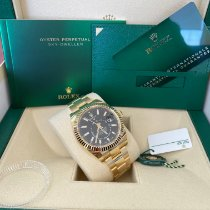 Rolex Sky-Dweller Yellow gold 42mm Black Arabic numerals