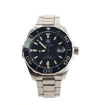 TAG Heuer Aquaracer 300M Steel 41mm Blue United States of America, New York, New York