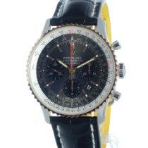 Breitling UB0121211F1P2 Goud/Staal 2021 Navitimer 1 B01 Chronograph 43 43mm nieuw