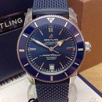 Breitling Superocean Heritage II 42 Сталь 42mm Синий Без цифр