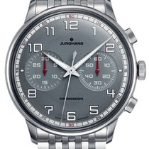 Junghans Meister Driver Steel 40.8mm Grey Arabic numerals United States of America, Indiana, Indianapolis