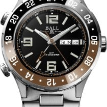 Ball Titanium 40mm Automatic DG3030B-S3CJ-BK new